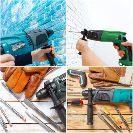 hammer drill Stok Fotoğraf - 87118284