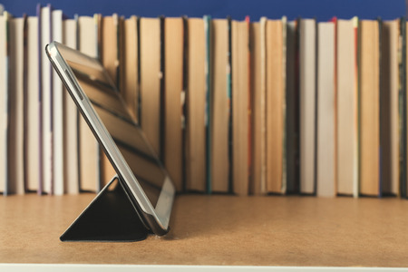 glossary: Composition with books on the table