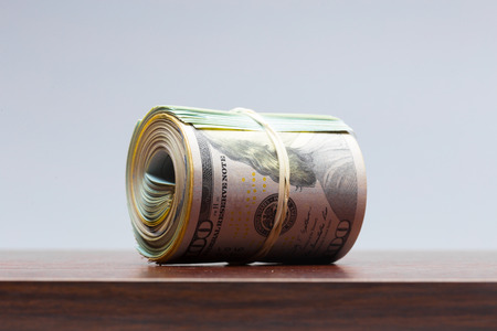 large amount of money Stock Photo