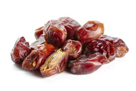 date fruit isolated on white Stock Photo