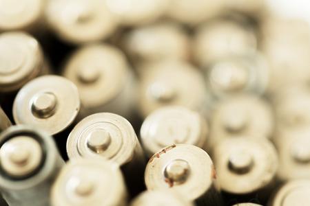 Used batteries