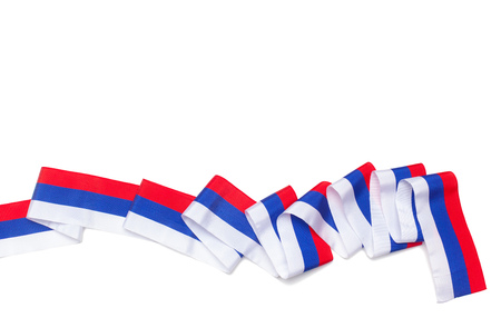 ribbon isolated on white