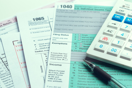 Tax Time. Concept Image.