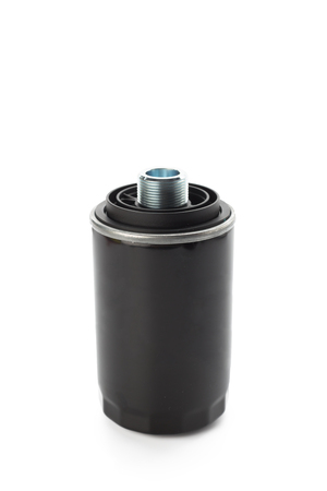 automotive oil filter Stock Photo