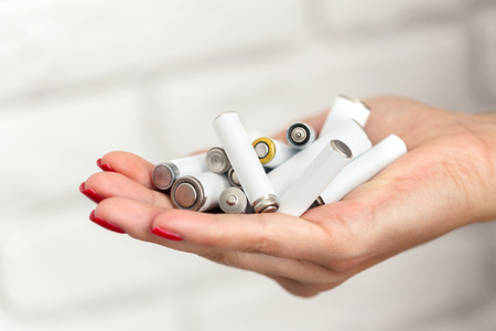 Batteries in hand