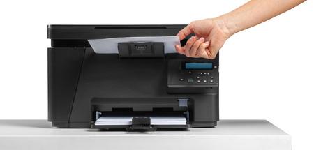 office desktop printer 版權商用圖片