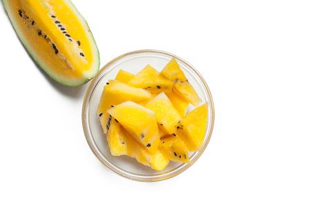 Yellow Watermelon Stockfoto