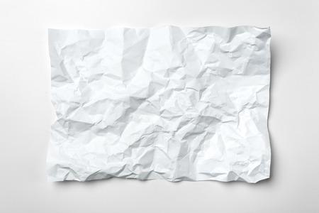 White crumpled paper Stock fotó