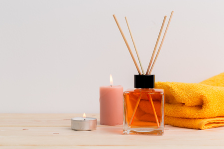air freshener sticks at home Stock Photo