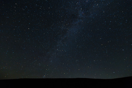Stunning beautiful Night sky with stars background
