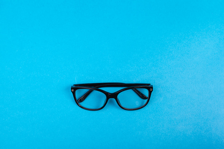 Modern fashionable spectacles isolated. Perfect reflection, Glasses