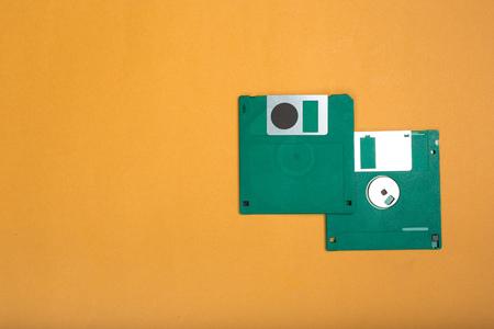 Computer floppy disk Standard-Bild