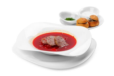 Borsch - traditional russian soup
