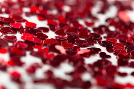heart-shaped pailettes