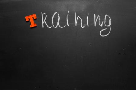 Training Education Class School Chalk Board