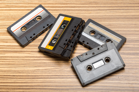 Cassette tape 스톡 콘텐츠