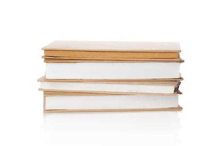 books isolated on white Stock Photo