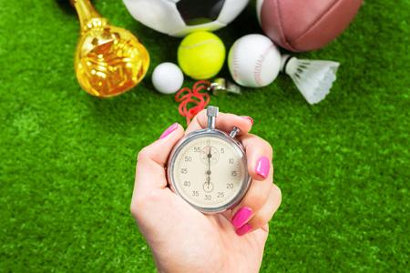 Silver chronometer
