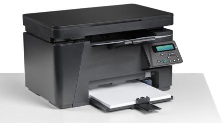 office desktop printer Stock Photo