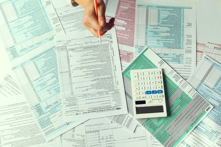 Tax Time. Concept Image. Stock Photo - 108767500