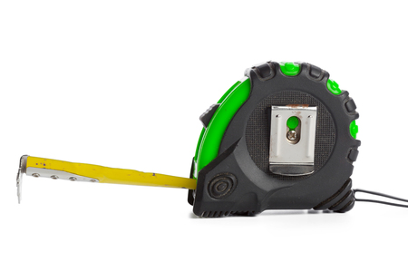 Tape measure on white background Banque d'images - 108971351