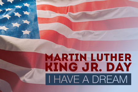 Happy martin luther king day background Stockfoto