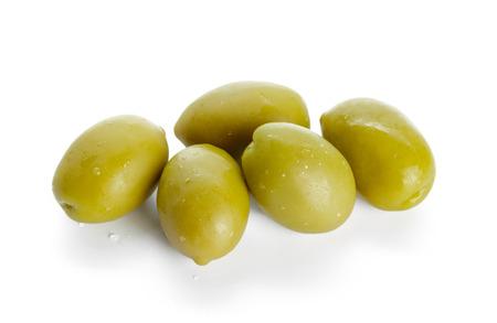 olive isolated on white