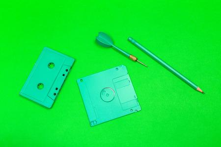 Computer floppy disk 版權商用圖片