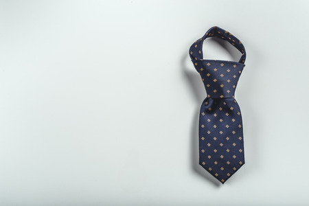 tie over white background