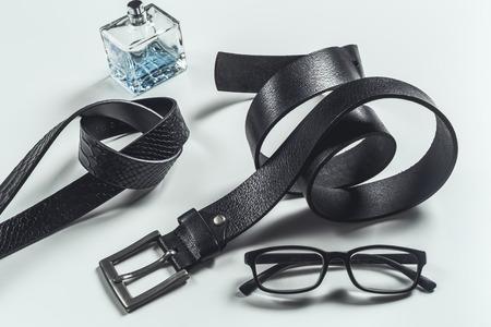 fashionable mens leather belt Reklamní fotografie