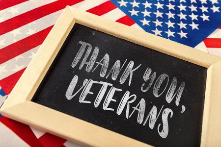 composite of veterans day flag Фото со стока