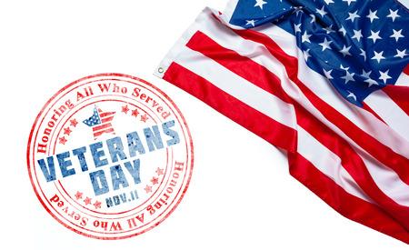 zusammengesetzt aus Veteranen-Tagesflagge