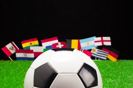 Football Russia 2018 Reklamní fotografie