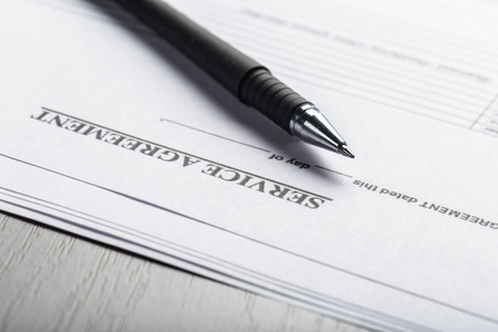 Lease or Rental agreement document