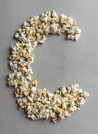 PopCorn Alphabet, isolated