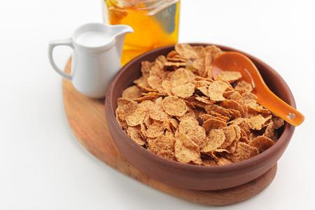 Bowl of healthy muesli Stok Fotoğraf
