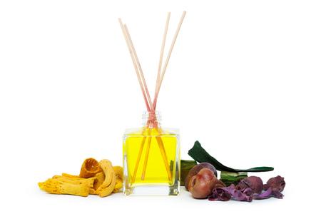 Air freshener sticks isolated on white background Stock Photo