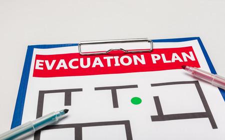 Notfall-Evakuierungsplan
