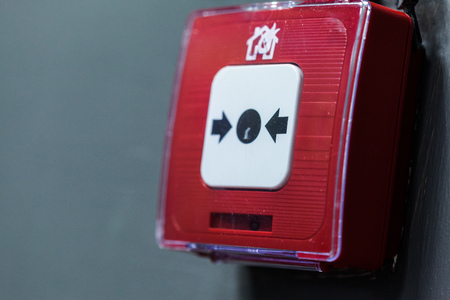 fire alarm system button