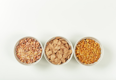 Healthy diet breakfast ingredients Standard-Bild