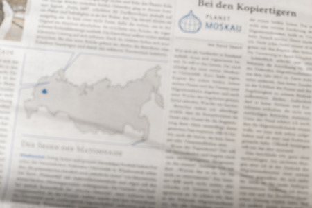 newspaper background, top view Stockfoto