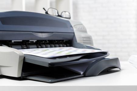 printer in office 写真素材 - 120347627