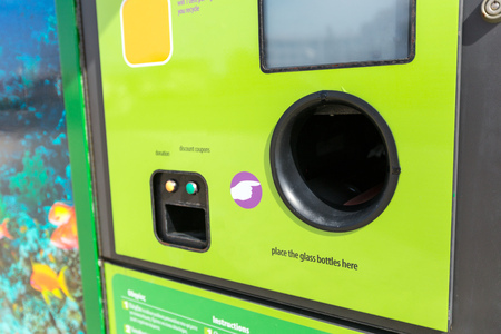 Reverse Vending Recycling Machine.