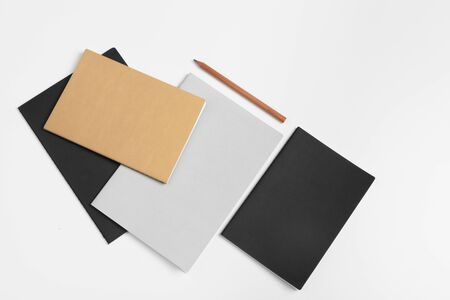 Corporate identity template, blank stationery set. Mock up for branding. creative photo.