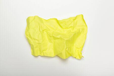colorful crumpled paper. creative photo.