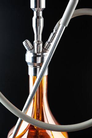 hookah metal parts close up
