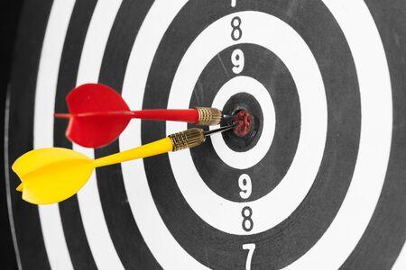 dartboard business success concept creative photo. 版權商用圖片