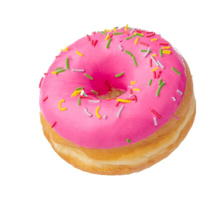 Donut isolated on white background Banque d'images