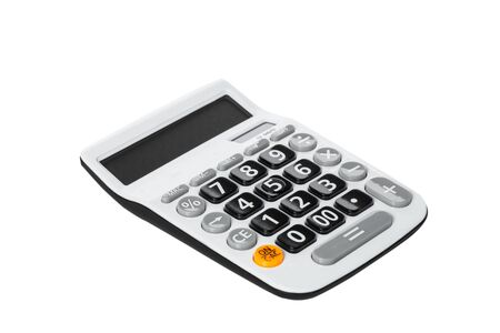 Close up image of Calculator Banque d'images