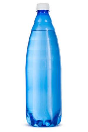 Big plastic water bottle isolated on white background Imagens